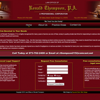 Law Offices of Ronald Thompson